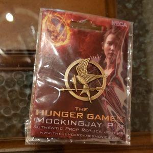 Hunger Games Gold Mockingjay Brooch